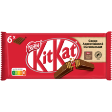 KIT KAT Barres chocolatées 6 barres 249g