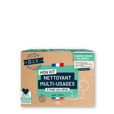 L'ATELIER DU D.I.Y Mon Kit nettoyant multi-usages à faire soi-même Pour 1l 1 kit