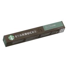 STARBUCKS Capsules de café Pike Place roast compatibles compatibles Nespresso 10 capsules 53g