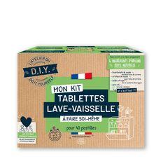 L'ATELIER DU D.I.Y Mon Kit Tablettes lave vaisselle à faire soi-même Pour 40 tablettes 1 kit