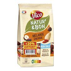 VICO Natur'&bon mélange énergie non salé 200g +20% offert
