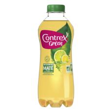 CONTREX Green Boisson aromatisée citron citron vert infusion maté bio 75cl