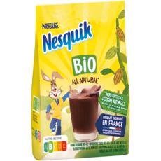 NESQUIK All Natural Préparation en poudre instantanée chocolat bio 350g