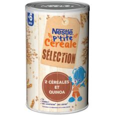 Nestlé NESTLE P'tite Céréale en poudre avec quinoa dès 6 mois