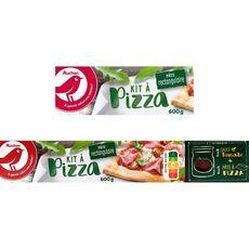 AUCHAN Kit pour pizza rectangulaire 600g