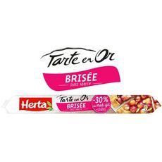 HERTA Pâte brisée tarte en or -30% MG 230g
