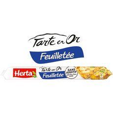 HERTA Tarte en Or Pâte feuilletée sans additif 230g