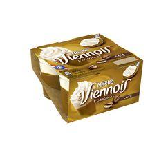 NESTLE Viennois L'original yaourt au café 4x100g
