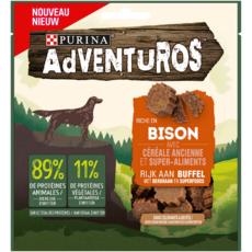 PURINA Adventuros Snacks riche en bison et céréales 90g