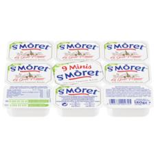 ST MORET Fromage à tartiner portion individuelle 9 portions 180g