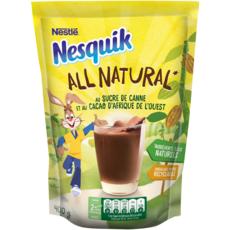 NESQUIK All natural Chocolat en poudre au sucre de canne 400g