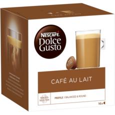 DOLCE GUSTO Capsules de café au lait compatibles Dolce Gusto 16 capsules 160g