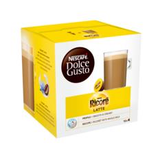 DOLCE GUSTO Capsules de Ricoré Latte compatibles Dolce Gusto 16 capsules 168g