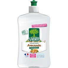 L'ARBRE VERT Liquide Vaisselle et main Ecolabel amande 500ml