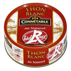CONNETABLE Thon blanc Label Rouge au naturel 120g