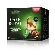 CAFE ROYAL Capsules noisette attack hazelnut  16 capsules  91g