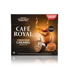 CAFE ROYAL Capsules bonbon boom caramel  16 capsules 96g