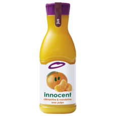 INNOCENT Pur jus de mandarines et clémentines avec pulpe 90cl