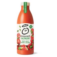 INNOCENT Gazpacho tomate basilic poivron pastèque 750ml