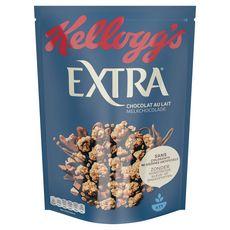 EXTRA Pépites de céréales croustillantes avec morceaux de chocolat au lait 500g