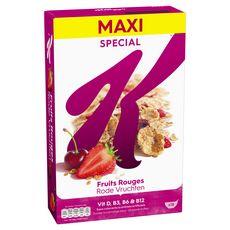 SPECIAL K Céréales fruits rouges 550g