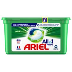 ARIEL Pods capsules de lessive tout en 1 31 lavages 31 capsules