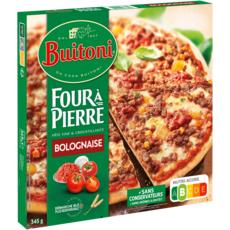 BUITONI Pizza bolognaise fine et croustillante 345g