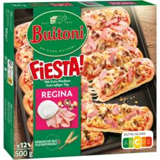BUITONI Pizza fiesta régina à partager 12 pièces 500g
