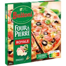 BUITONI Pizza royale fine et croustillante 335g