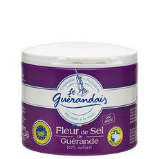 Le Guérandais LE GUERANDAIS Fleur de sel de Guérande récoltée à la main 100% naturel produit en Bretagne