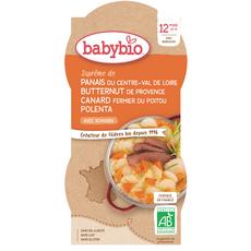 Babybio BABYBIO Assiette panais butternut et canard bio dès 12 mois