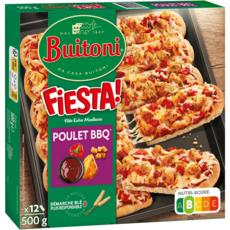 BUITONI Pizza fiesta poulet barbecue 500g