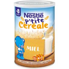 NESTLE P'tite céréale au miel en poudre dès 8 mois 400g