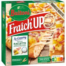 BUITONI Pizza fraîch'up façon raclette 580g