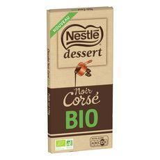 NESTLE DESSERT Tablette de chocolat noir corsé bio 170g