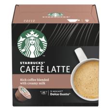 STARBUCKS Capsules de café au lait compatibles Dolce Gusto 12 capsules 121.2g