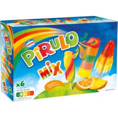 NESTLE Bâtonnet de glace à l'eau mix aromatisé aux fruits 6 pièces 300g