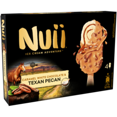 Nuii NUII Bâtonnet glacé texan pecan chocolat avec caramel