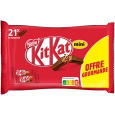 NESTLE KitKat Mini gaufrette croustillante enrobée de chocolat au lait 350g