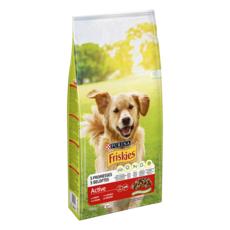 FRISKIES Active croquettes au boeuf pour chien 10kg