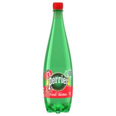 PERRIER Eau gazeuse aromatisée à la fraise 1l