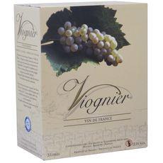 VIGNERONS ARDECHOIS Vin de France Viognier blanc Bib 3L