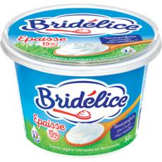 BRIDELICE Bridélice crème légère épaisse 15% Mat. Gr. pot 50 cl 50cl