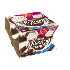NESTLE Le Viennois Mousse au chocolat 4x90g