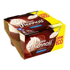 NESTLE Le Viennois Liégeois au chocolat 4x100g