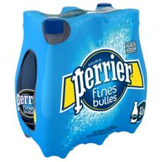 PERRIER Eau minérale naturelle gazeuse fines bulles bouteilles 6x50cl