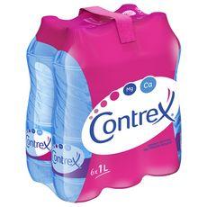 CONTREX Eau minérale naturelle plate 6x1l
