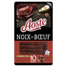 AOSTE Noix de boeuf séchée 10 tranches 80g