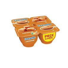 DANETTE Crème dessert au caramel 4x125g