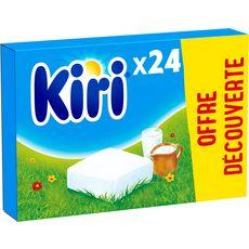 KIRI Fromage fondu à tartiner 24 portions 432g